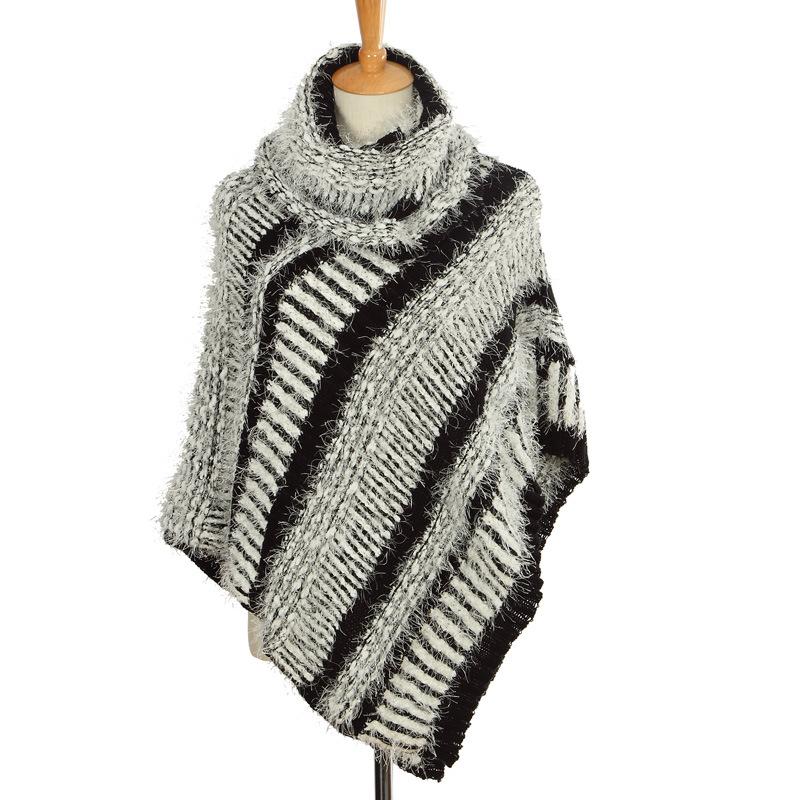 China oem women sweater fashion mohair sweater poncho