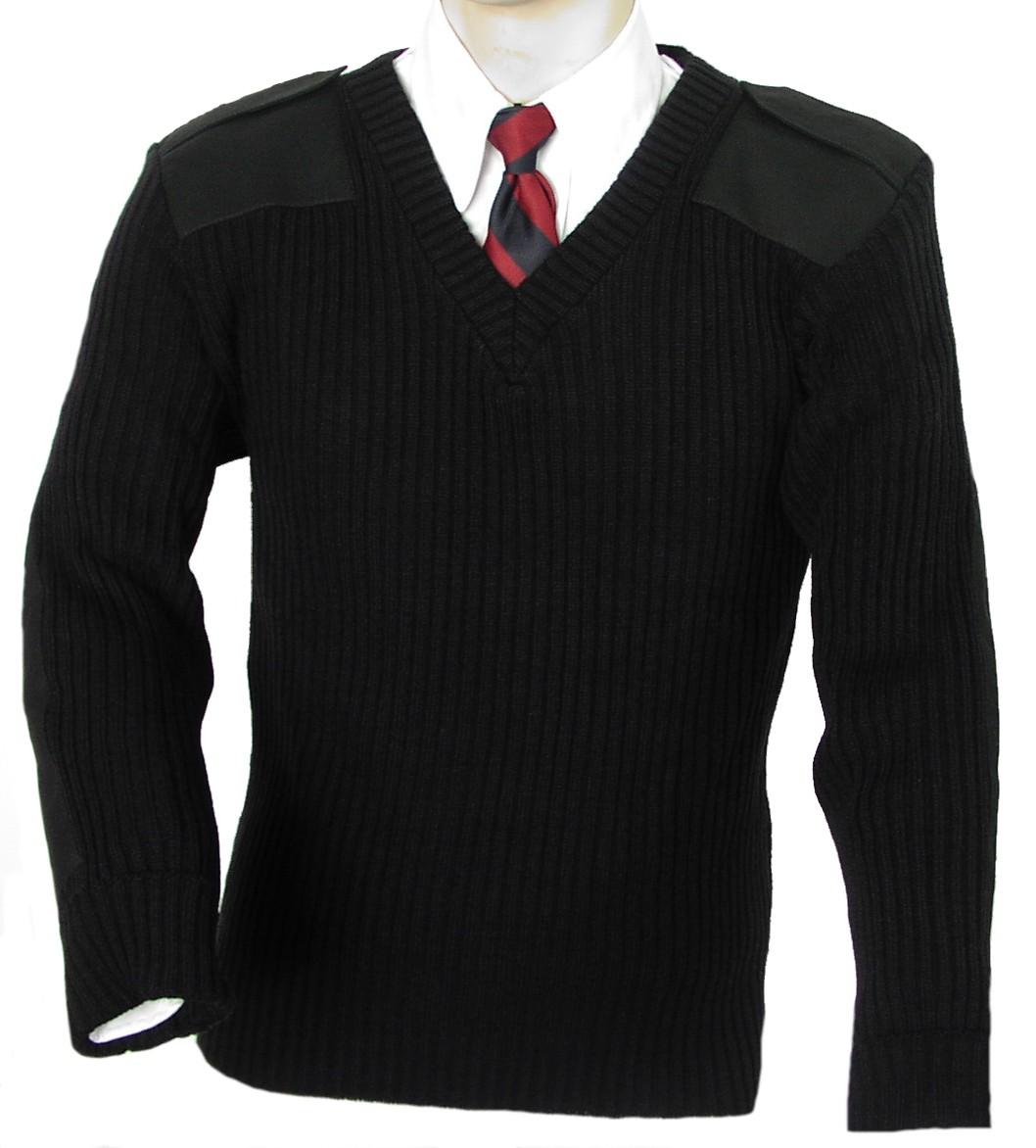 Custom high quality knitting security uniform woolen unisex police uniform