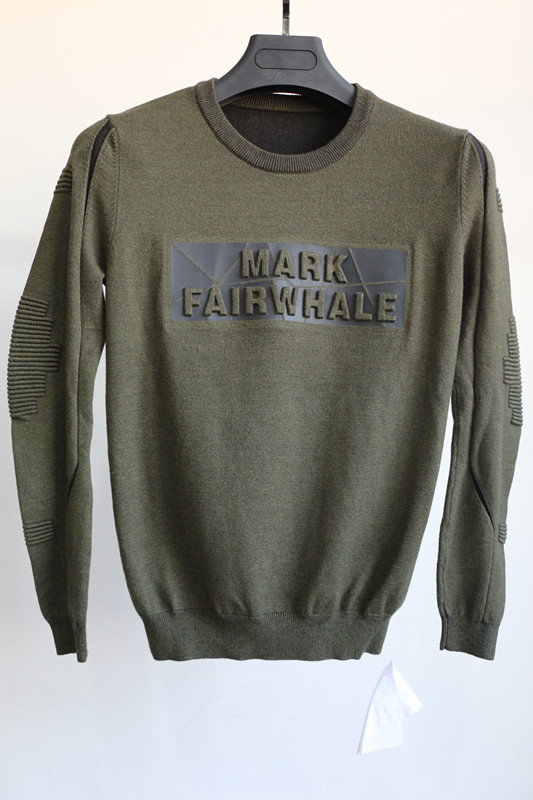 High quality custom crew neck army green casual men's russian commando sweater