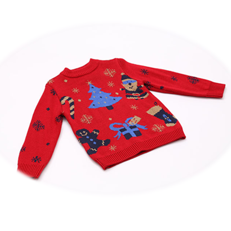 Party Christmas Trees Knits Red Sweater Christmas Jumpers