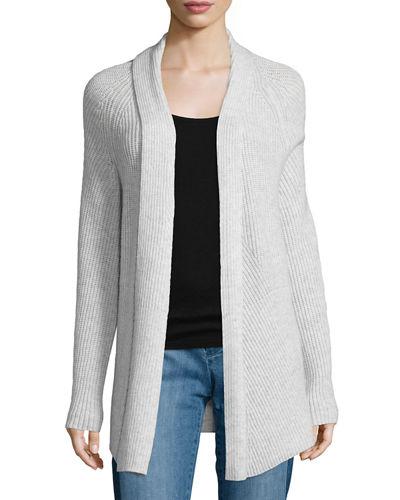 Newest OL style cashmere knitting wrap sweater fashion ladies coat