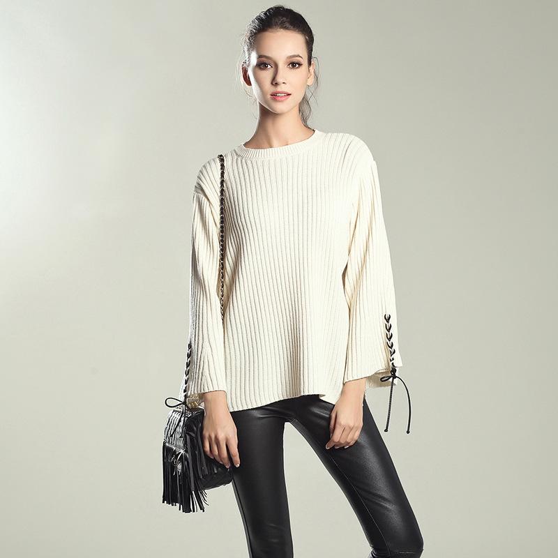 Custom make luxury cashmere fair ladies' knitting sweater