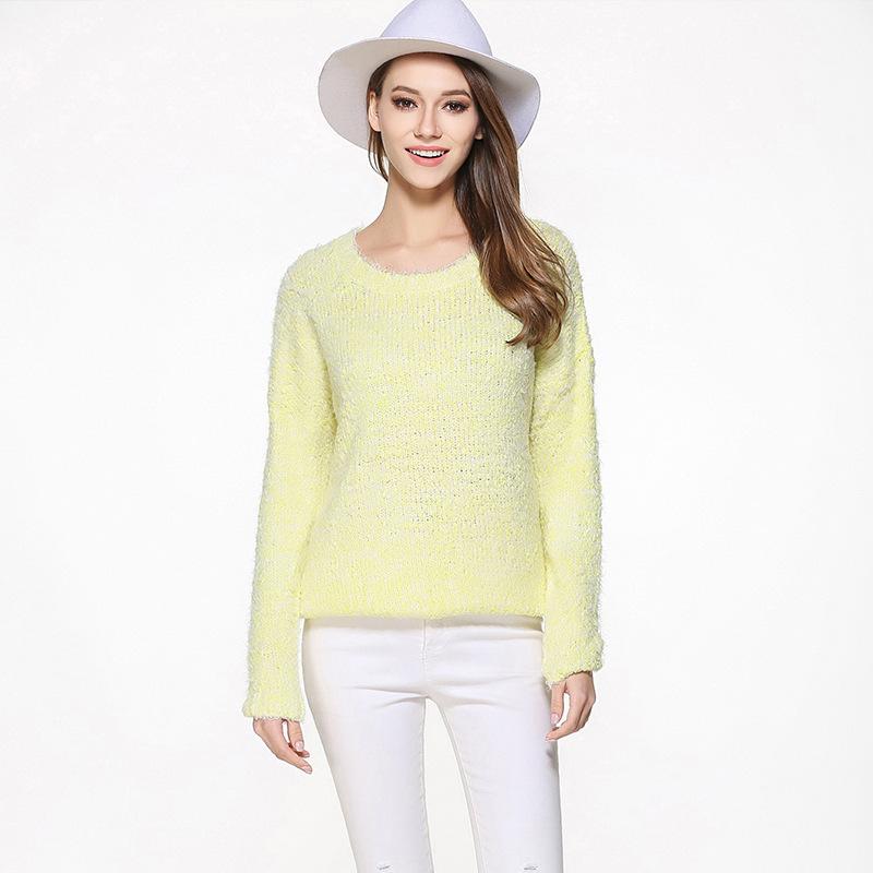 Professional sweater manufacturer custom make alpaca knitting women jumper